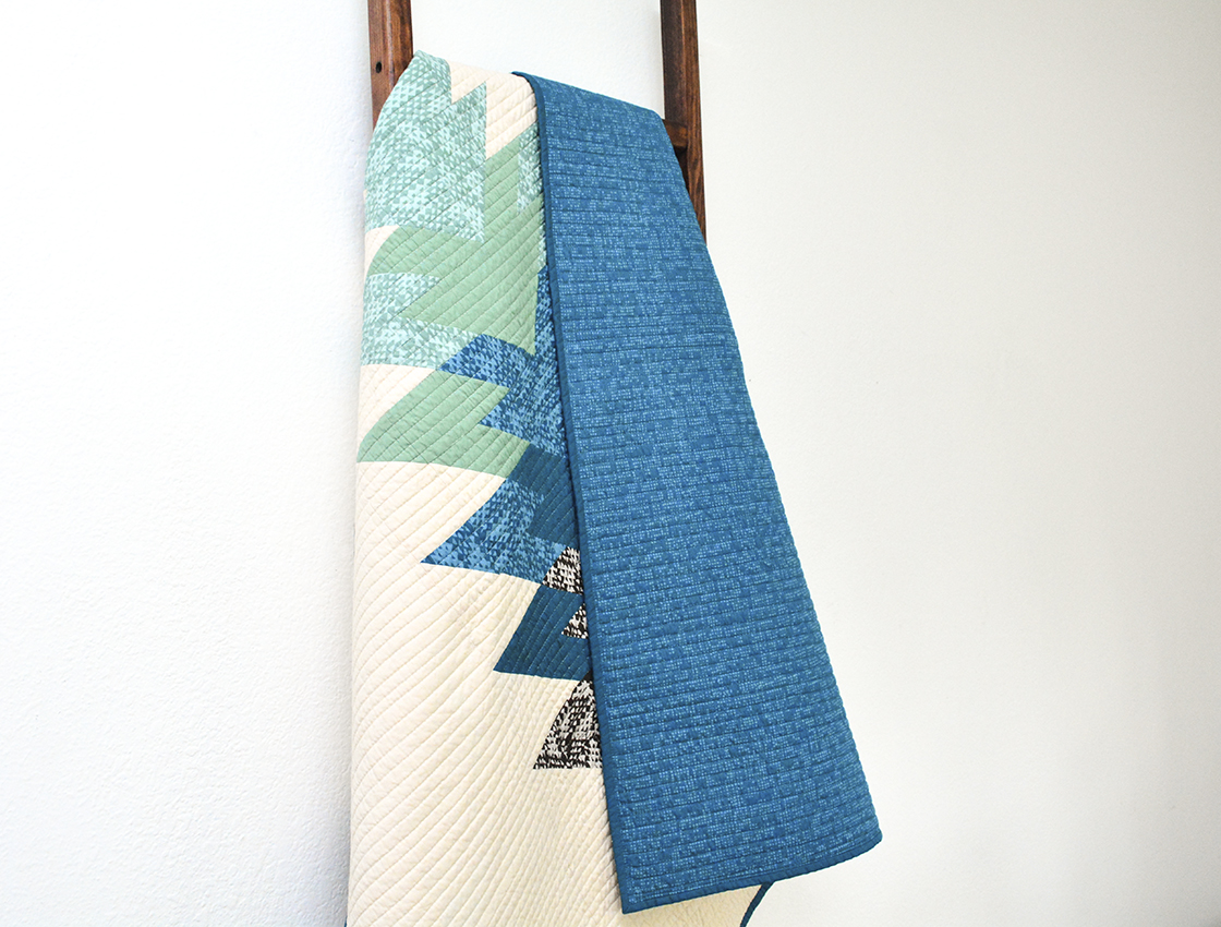 Me+You Arrowhead Quilt by Initial K Studio