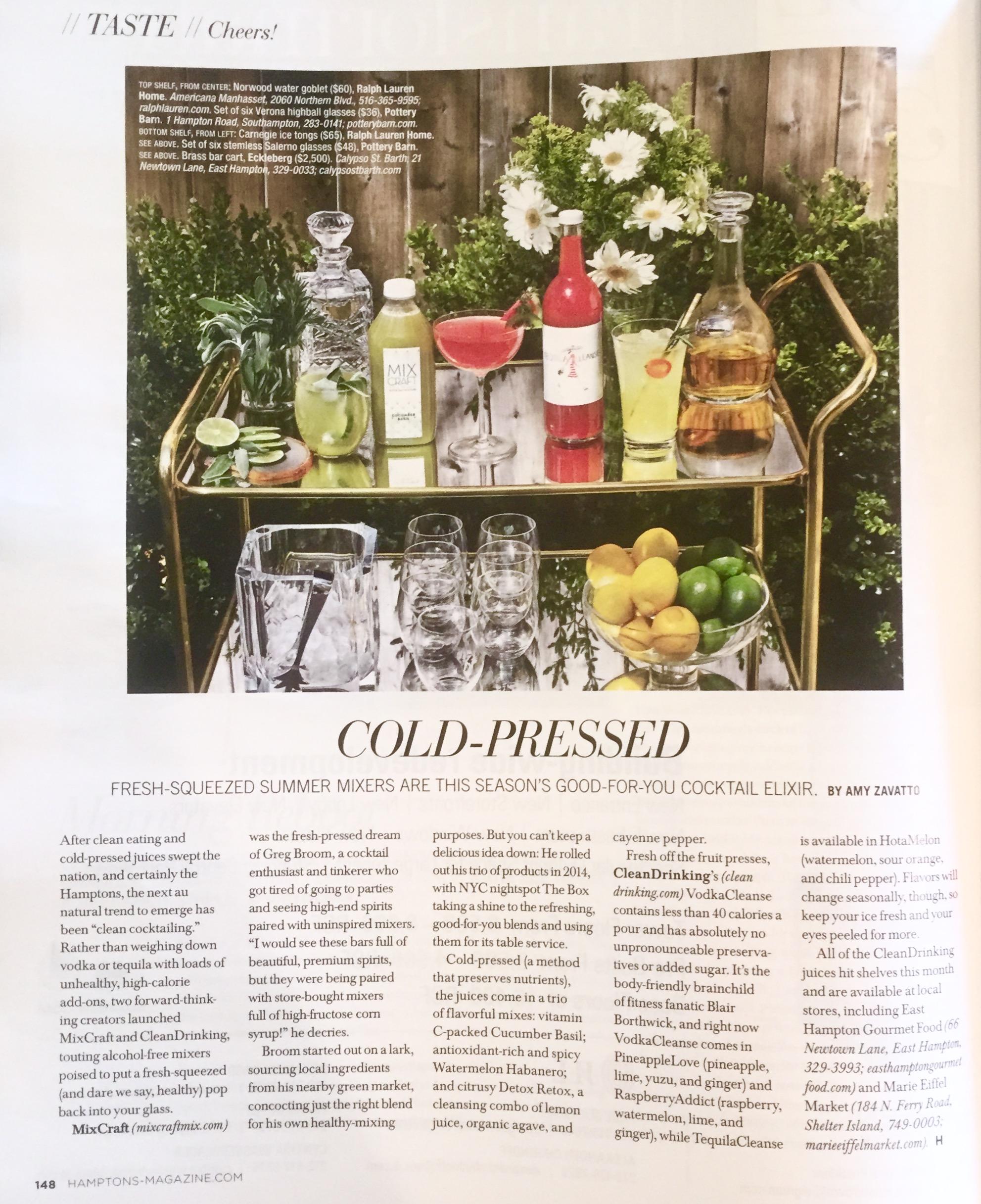 Hamptons Magazine, Memorial Day 2015 Edition