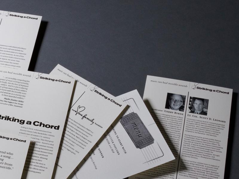 We Are Family Foundation | 'Striking a Chord' John Mayer Benefit Program Design