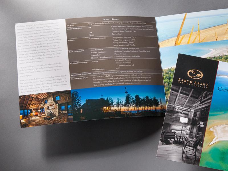 Earth Asset Partnership | Cathead Point Brochure Design