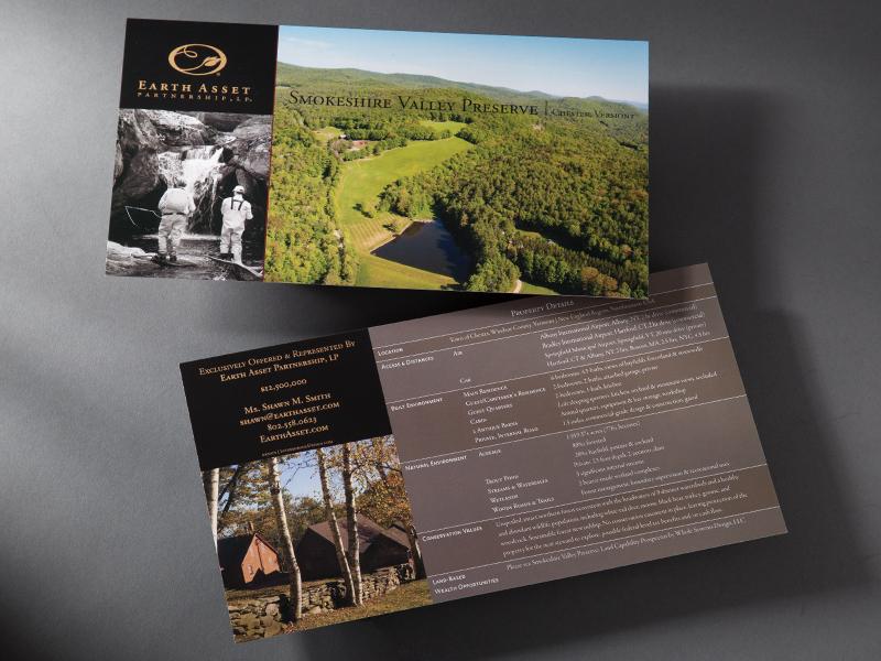 Earth Asset Partnership | Smokeshire Valley Preserve Postcard Design