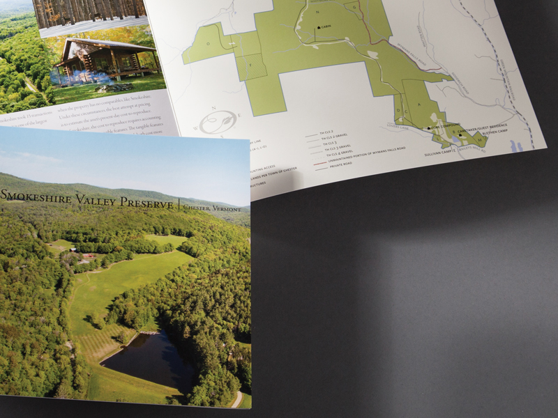 Earth Asset Partnership | Smokeshire Valley Preserve Brochure Design