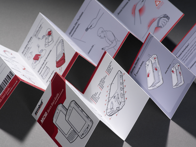 Symbol Technologies   MC50 Quick-Start Guide Design