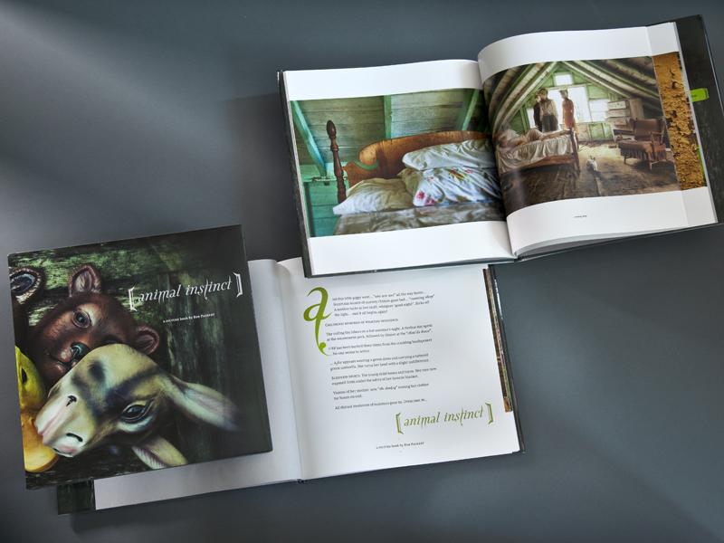 Packert Photography | 'Animal Instincts' Book Design