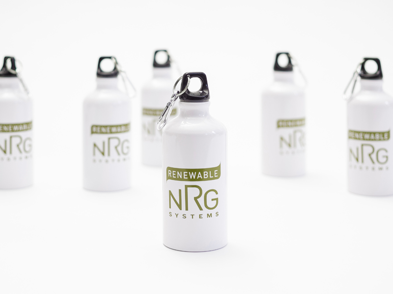 Renewable NRG Systems | Branded Water Bottle Design