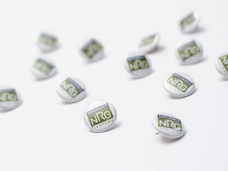 Renewable NRG Systems | Branded Pin Design