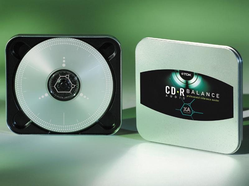 TDK Electronics Corp. | CD-R Balance Packaging Design