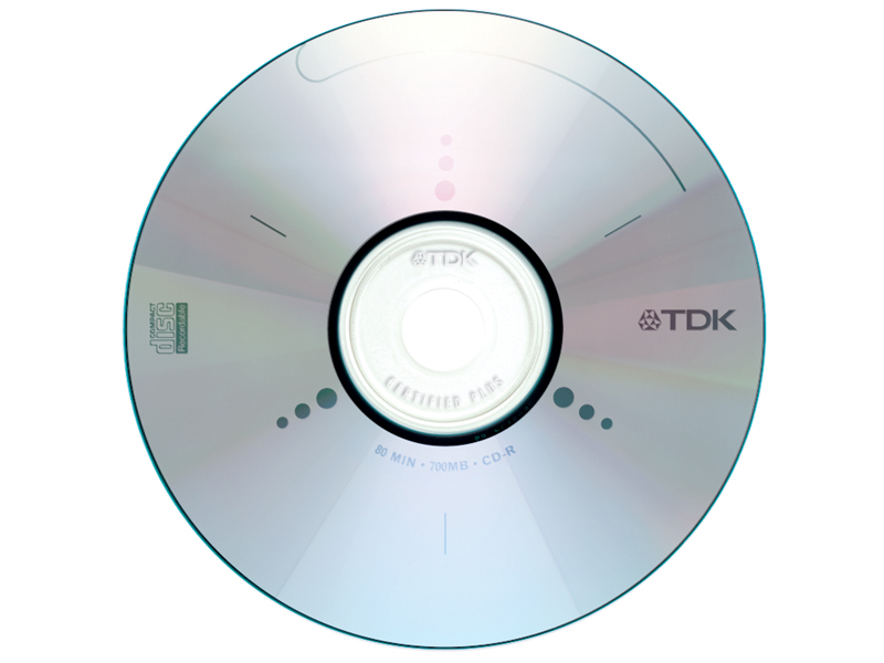 TDK Electronics Corp. | Recordable CD Graphic
