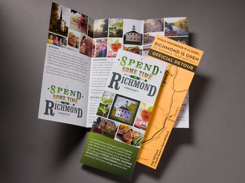 One Richmond | Spend Some Time in Richmond Brochure Design