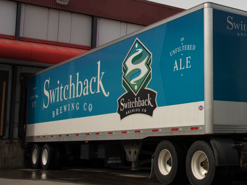 Switchback Brewing Co. | Trailer Truck Design