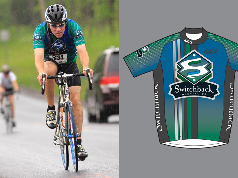 Switchback Brewing Co. | Original Cycling Jersey Design