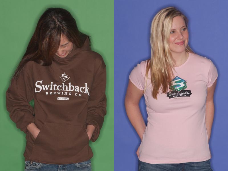 Switchback Brewing Co.   Hoodie & Women's Tee Designs
