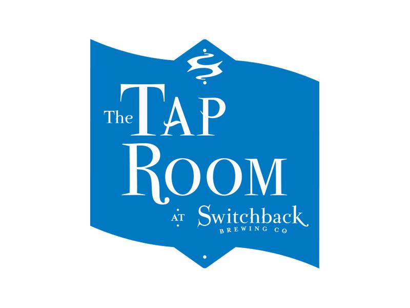 Switchback Brewing Co.   Tap Room at Switchback Logo Design