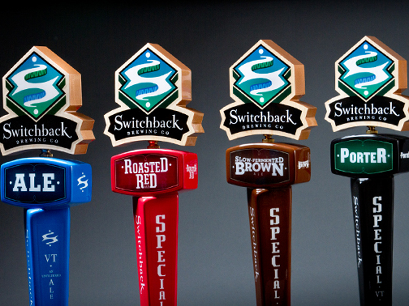 Switchback Brewing Co. | 2011 Series Tap Handles Design