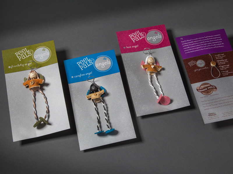 Hope for Women | Peel Pals Angels Packaging Design