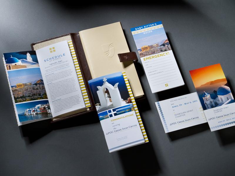 Madison Performance Group | 2011 Greek Isles Cruise Program of Events Design