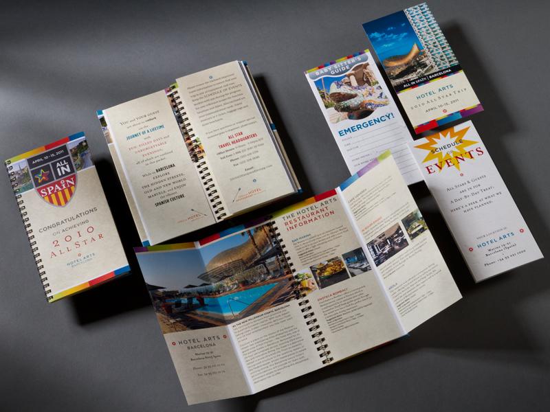 Madison Performance Group | 2011 Barcelona Summit All Star Program of Events Design