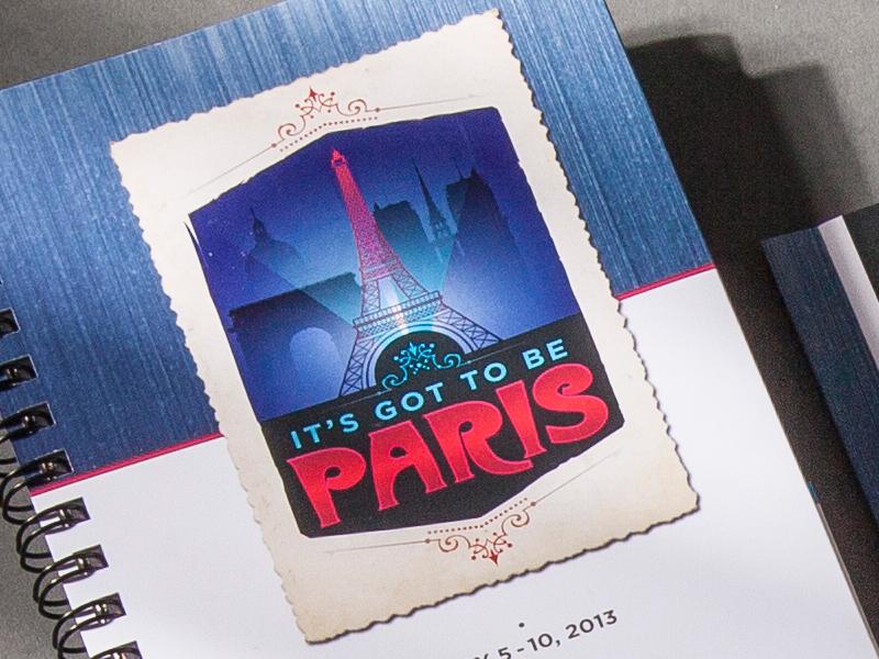 Madison Performance Group | 2013 Paris Summit All Star Logo Design