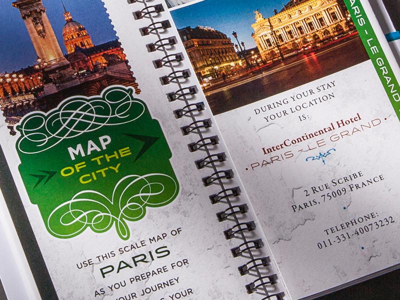 Madison Performance Group | 2013 Paris Summit All Star Program of Events Design