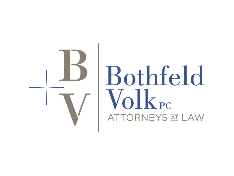Rebranding Logo Design for Bothfeld + Volk, Burlington Vermont, by Interrobang Design