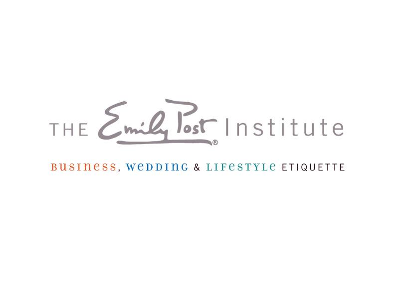 Rebranding Logo Design for The Emily Post Institute in Burlington Vermont by Interrobang Design