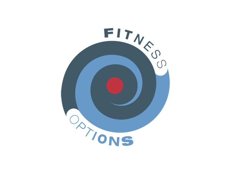 Start-up Company Logo Design for Fitness Options by Interrobang Design