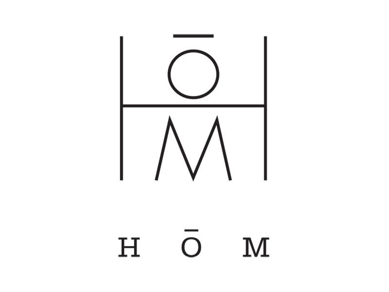 Logo Design for HOM Interior Designers by Interrobang Design