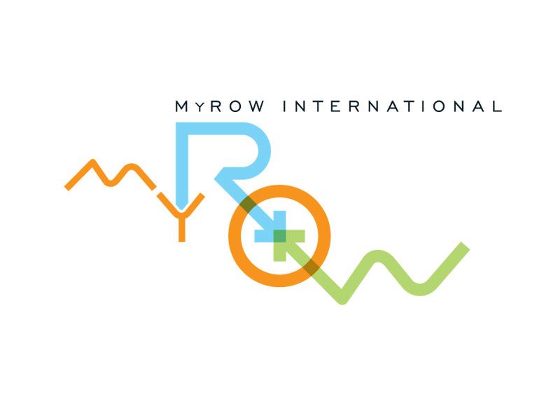 Logo Design for MyROW, Winooski Vermont, by Interrobang Design
