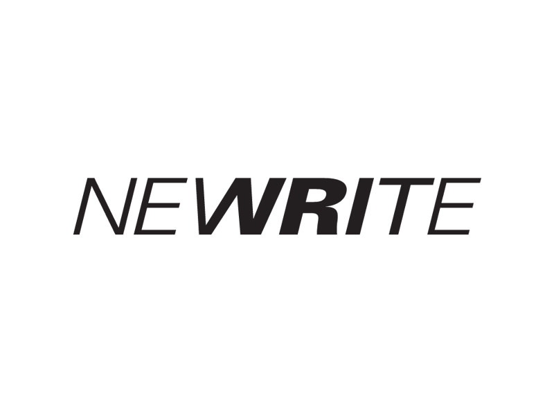 Logo Design for Newrite, TDK Electronics New York, by Interrobang Design