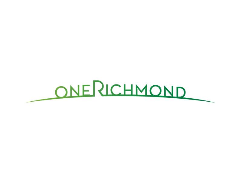Logo Design for One Richmond by Interrobang Design