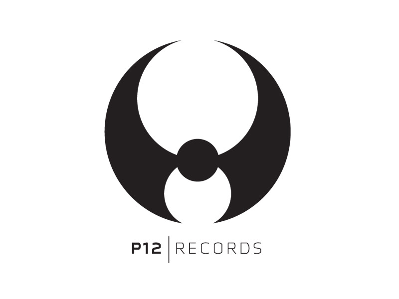 Logo Design for P12 Records, Burlington Vermont, by Interrobang Design