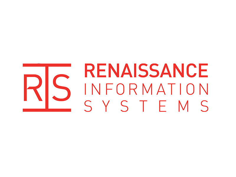 Logo Design for Renaissance Information Systems by Interrobang Design