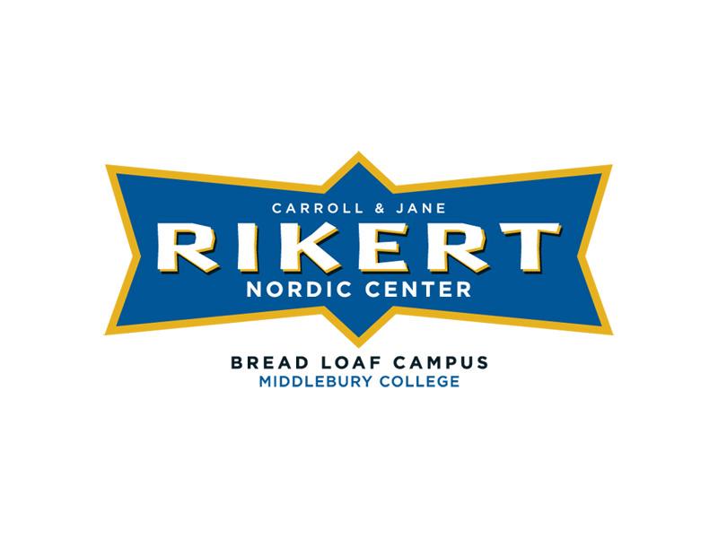 Logo Design for Rikert Nordic Center, Middlebury Vermont, by Interrobang Design