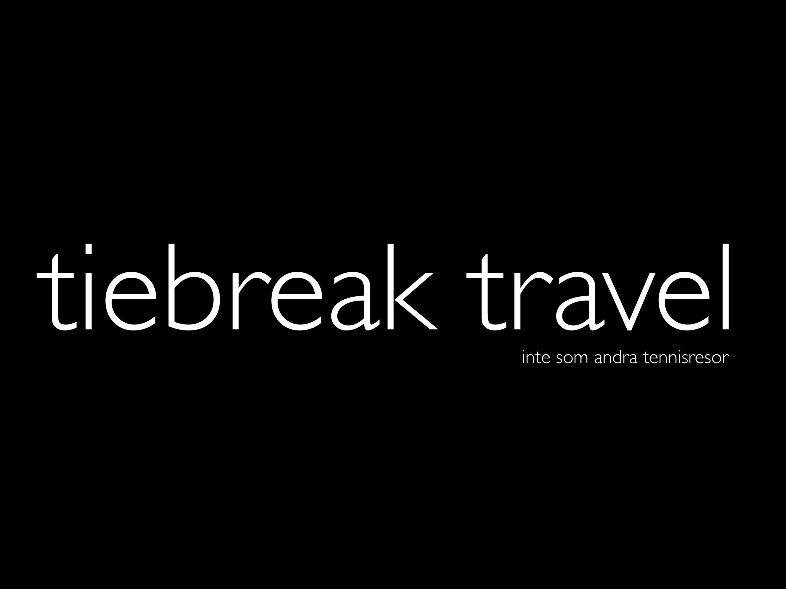 Tiebreak Travel logo svart payoff.png