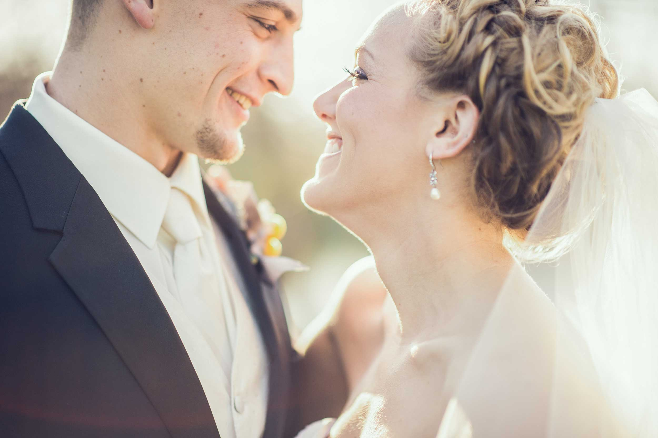Sunset wedding photography at The Pontifical College Josephinum