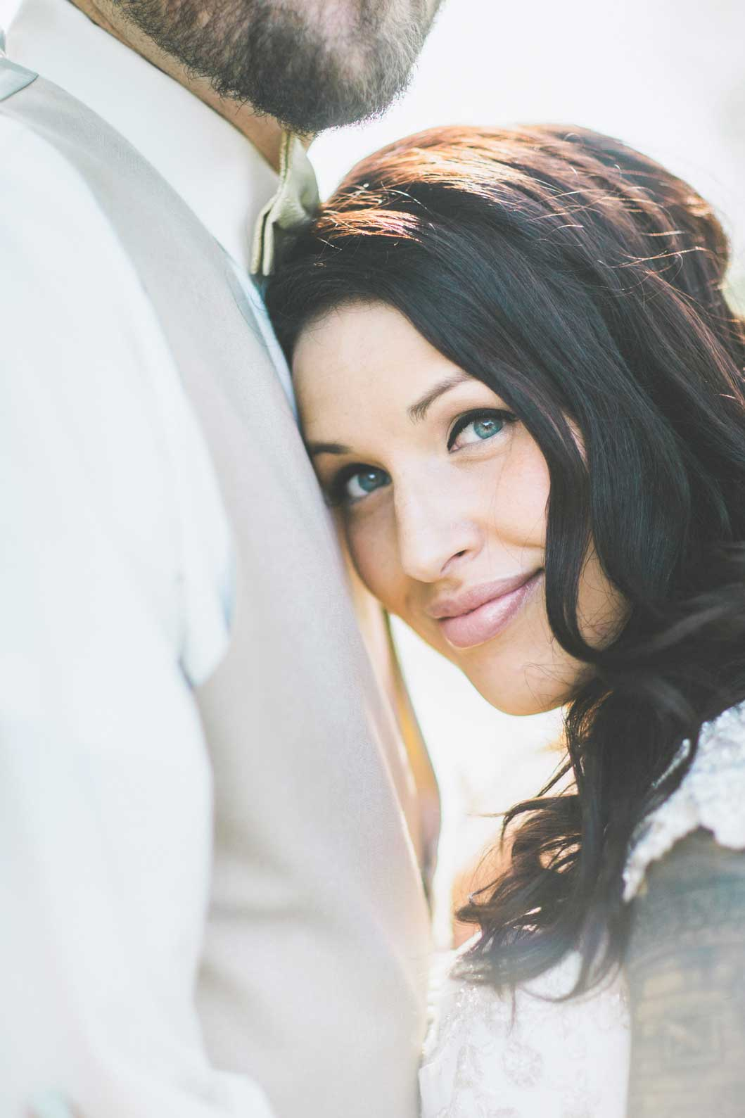 Wedding dress and tattoos