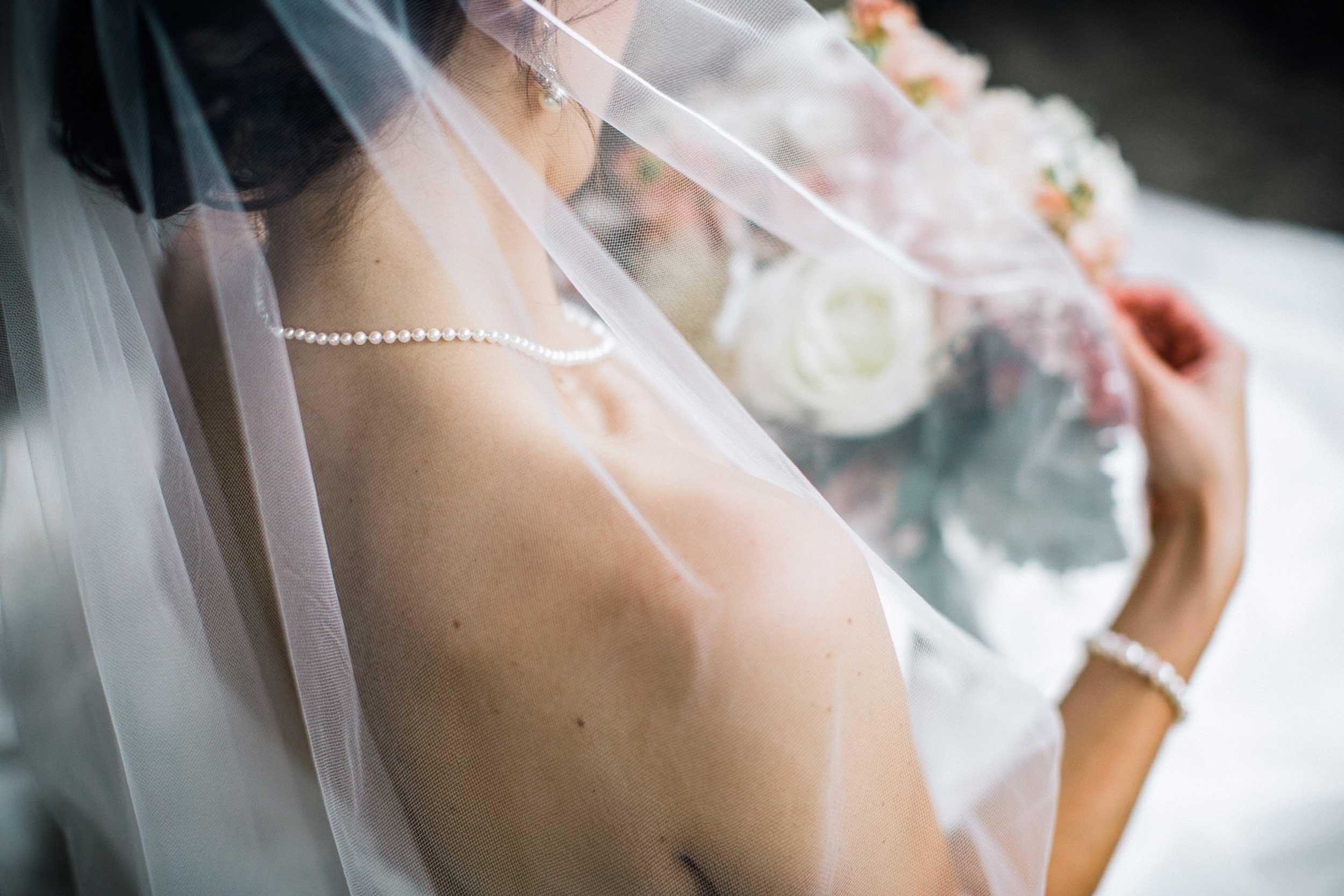 Bridal portrait at Zanesville Country Club