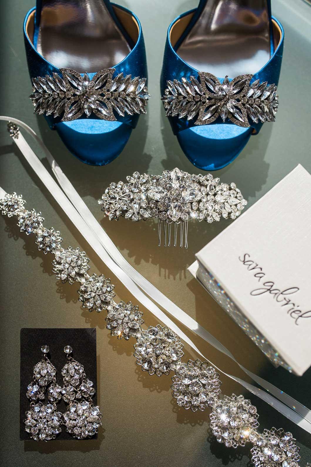 Bride's jewelry by Sara Gabriel