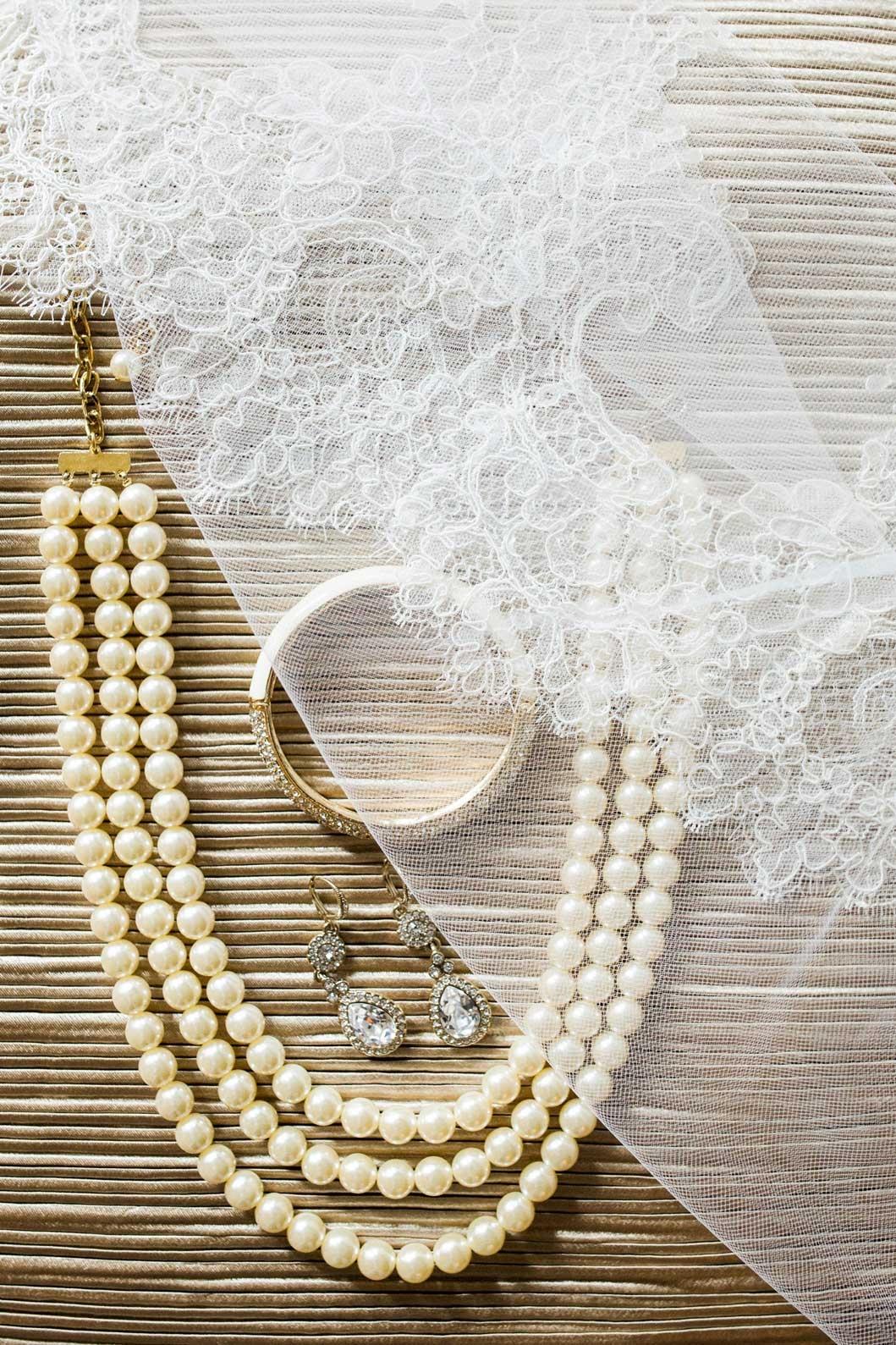 Sara's bridal details