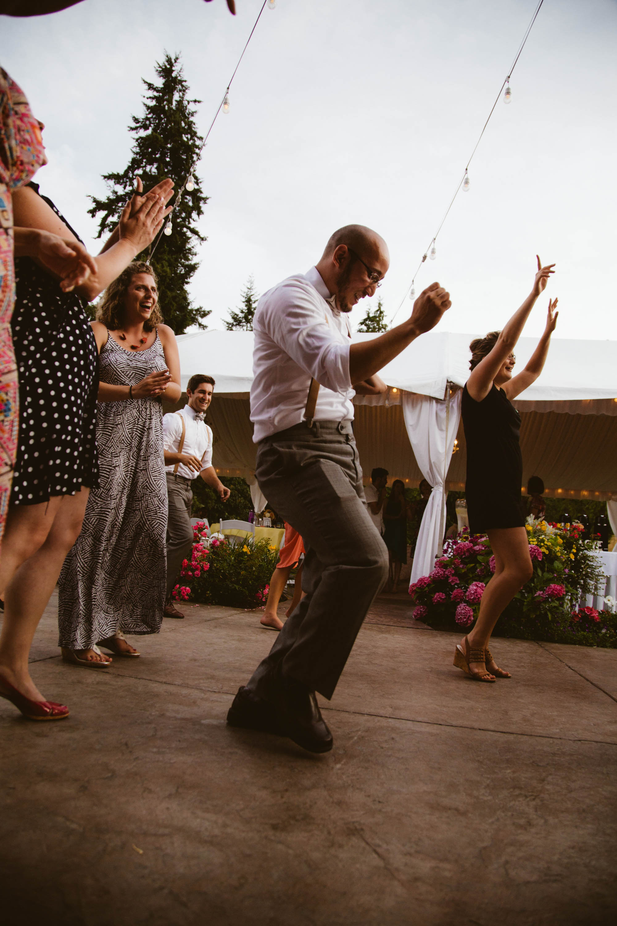 This wedding was a dance party!
