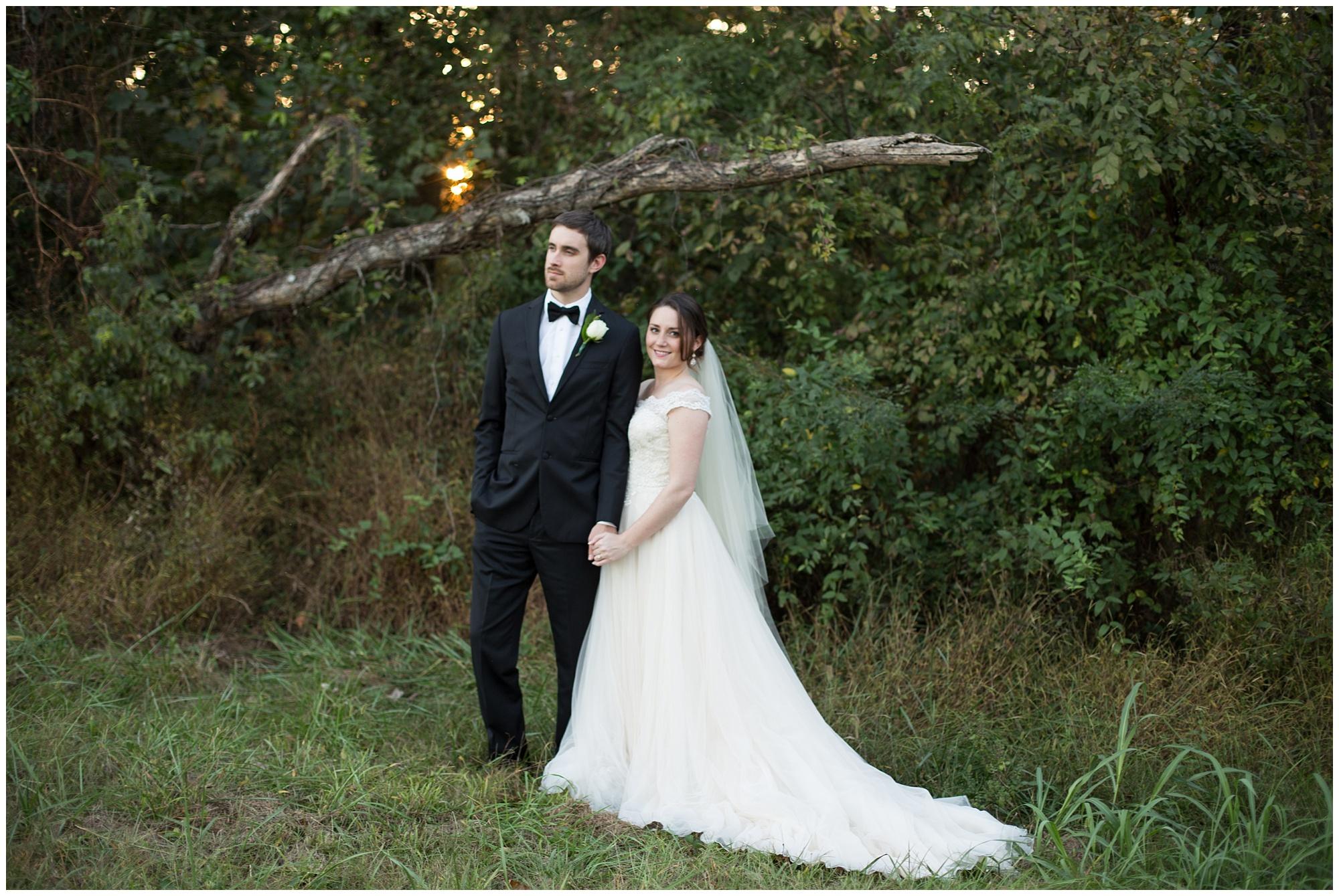 woodsy fall wedding