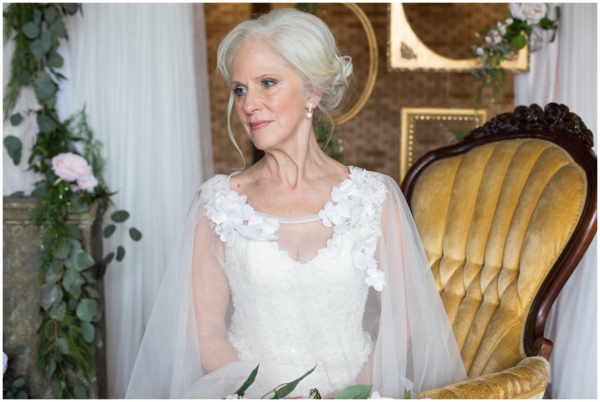 vow renewal bride