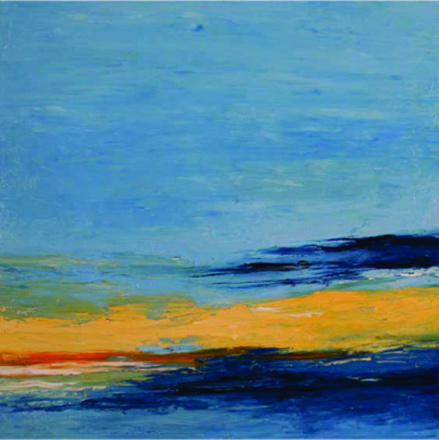 Sky 5-10-07, oil on canvas, 36 by 36 inches, 2007 - $3000