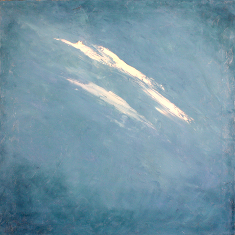 Blue Sky, oil on canvas, 36 by 36 inches, 2007 - $2000