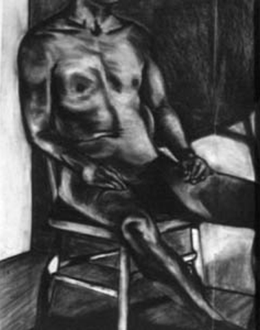 Seated Nude. charcoal on paper. 18x24-inches. 1987.jpg