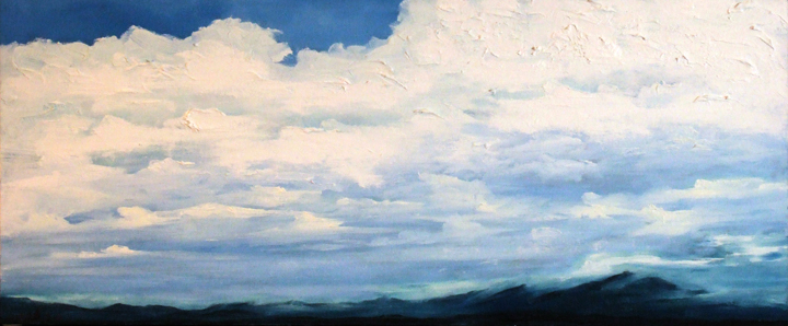 Mt. Washington Valley, oil on canvas, 20 by 42 inches, 2006 - $2000 (sold)