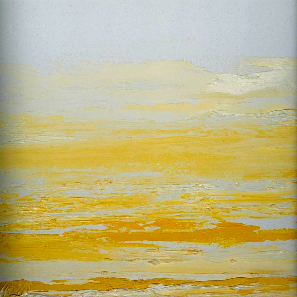 At The Horizon Study 2-24-11, oil-on-board, 8 by 8 inches, 2011 - $750