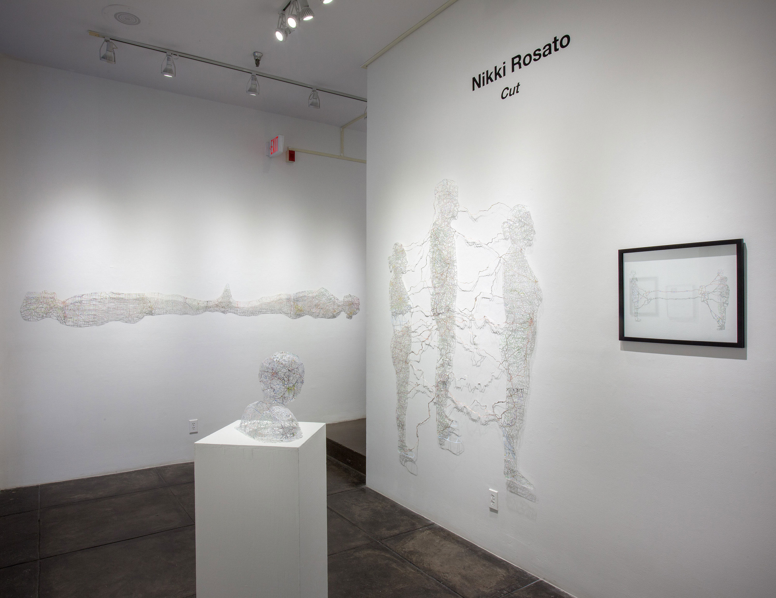 Cut , Solo Exhibition at the Jonathan Ferrara Gallery, 2013