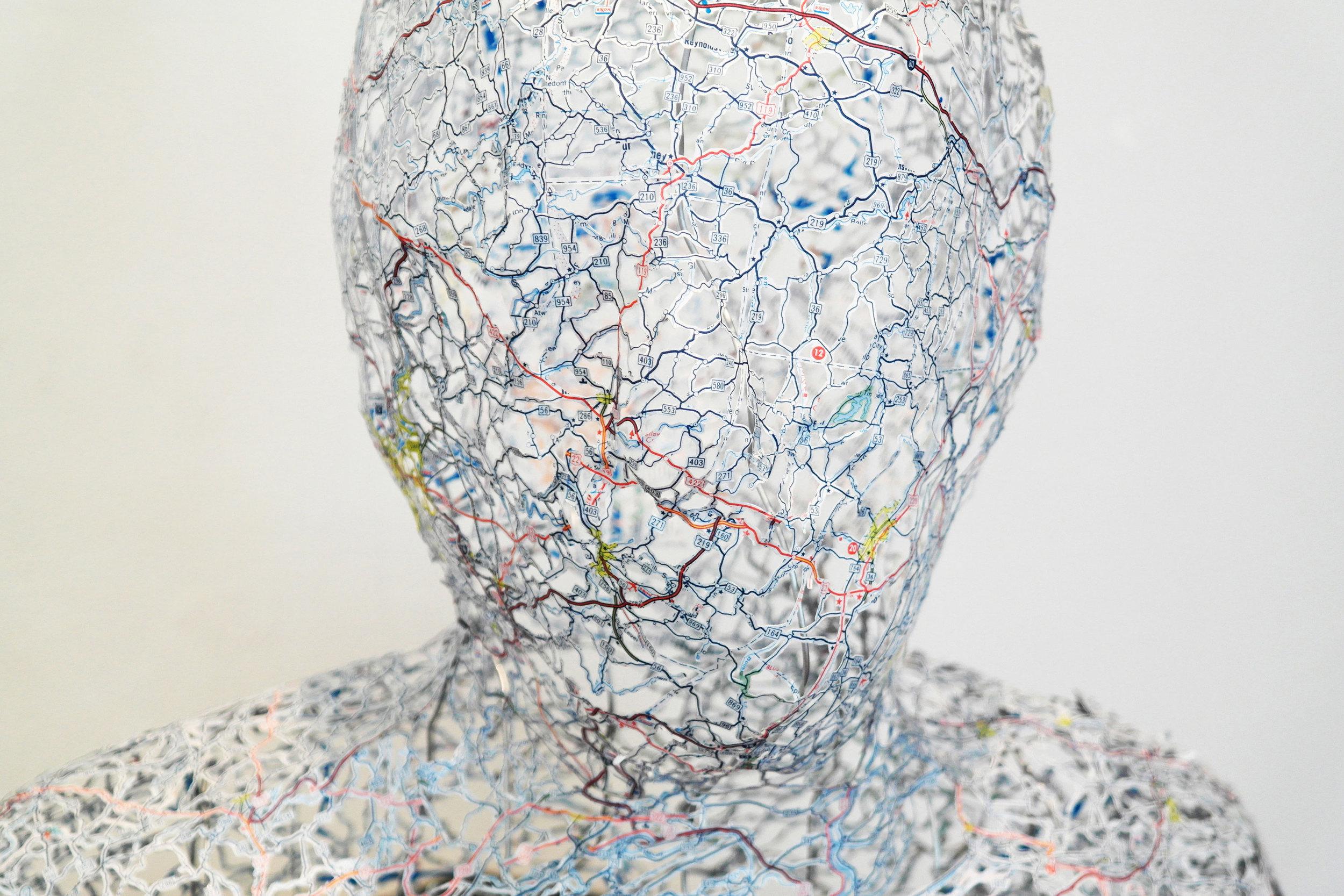 Untitled (Self-Portrait) detail