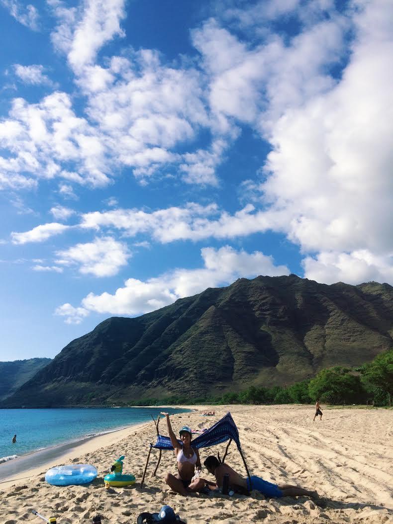 Makua, Wai'anae Coast // O'ahu, Hawai'i